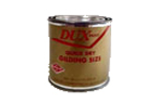 Oil based adhesive size for gold and silver leaf