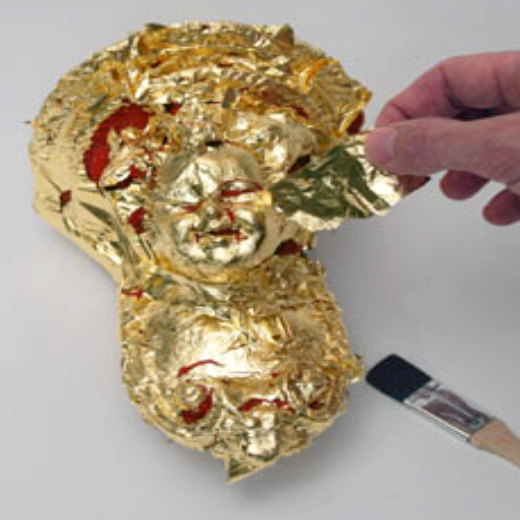 Gilding on objects