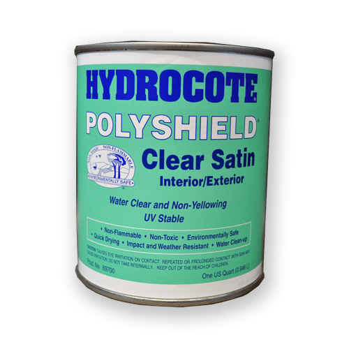 waterbased satin sealer for gold and silver leaf