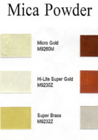 mica powder color chart