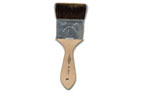 Soft artist brushes for genuine and metal leaf